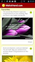 Screenshot of Messages & Poems - Wishafriend