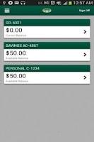 Screenshot of Bank of Frankewing Mobile