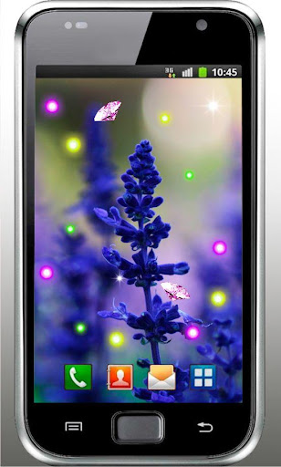 Lavender Free live wallpaper