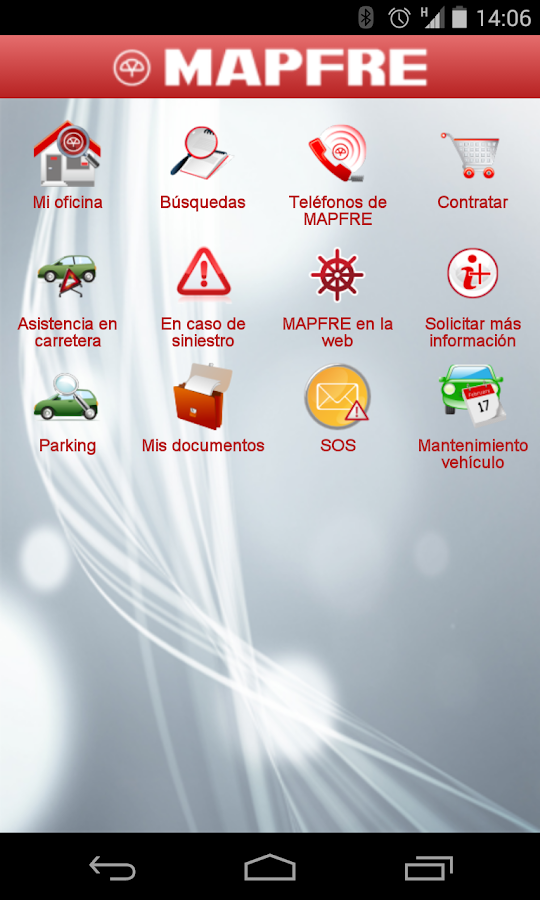 Mapfre paraguay android apps on google play for Telefono mapfre oficinas