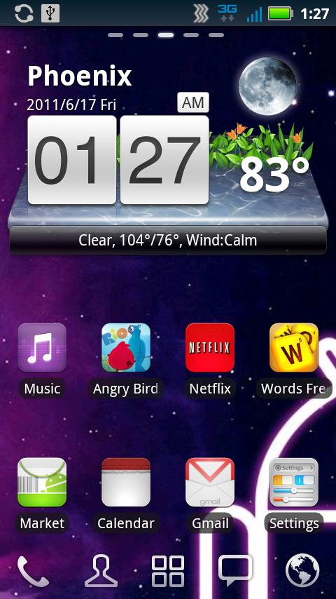 Droid Genesis Launcher Theme- screenshot
