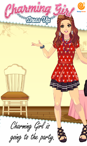 Charming Girl Dress Up