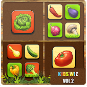 Vegetable Names and Quiz Book