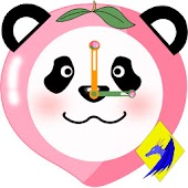 Fruit Panda Clock