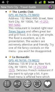 New York City - Travel Guide- screenshot thumbnail
