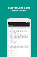 Screenshot of Turbo Editor ( Text Editor )