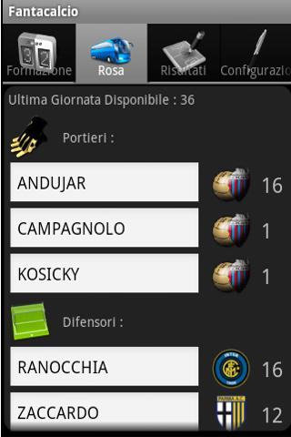 Magic Serie A Fantacalcio - screenshot