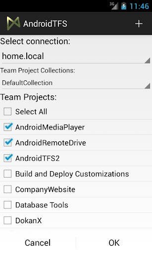 TFS Client for Android
