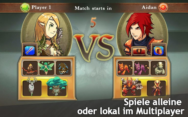 android M&M Clash of Heroes Screenshot 4
