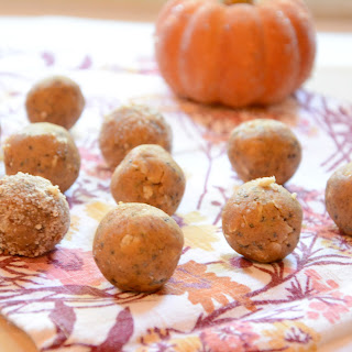 Pumpkin Pie Cookie Dough Energy Balls