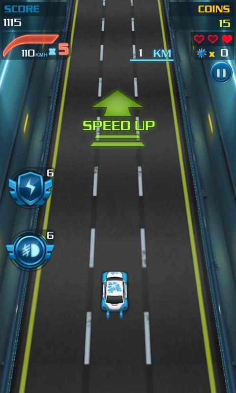 Android Speed Racing Resimler
