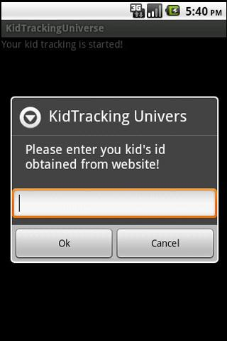 Children GPS Tracker - screenshot