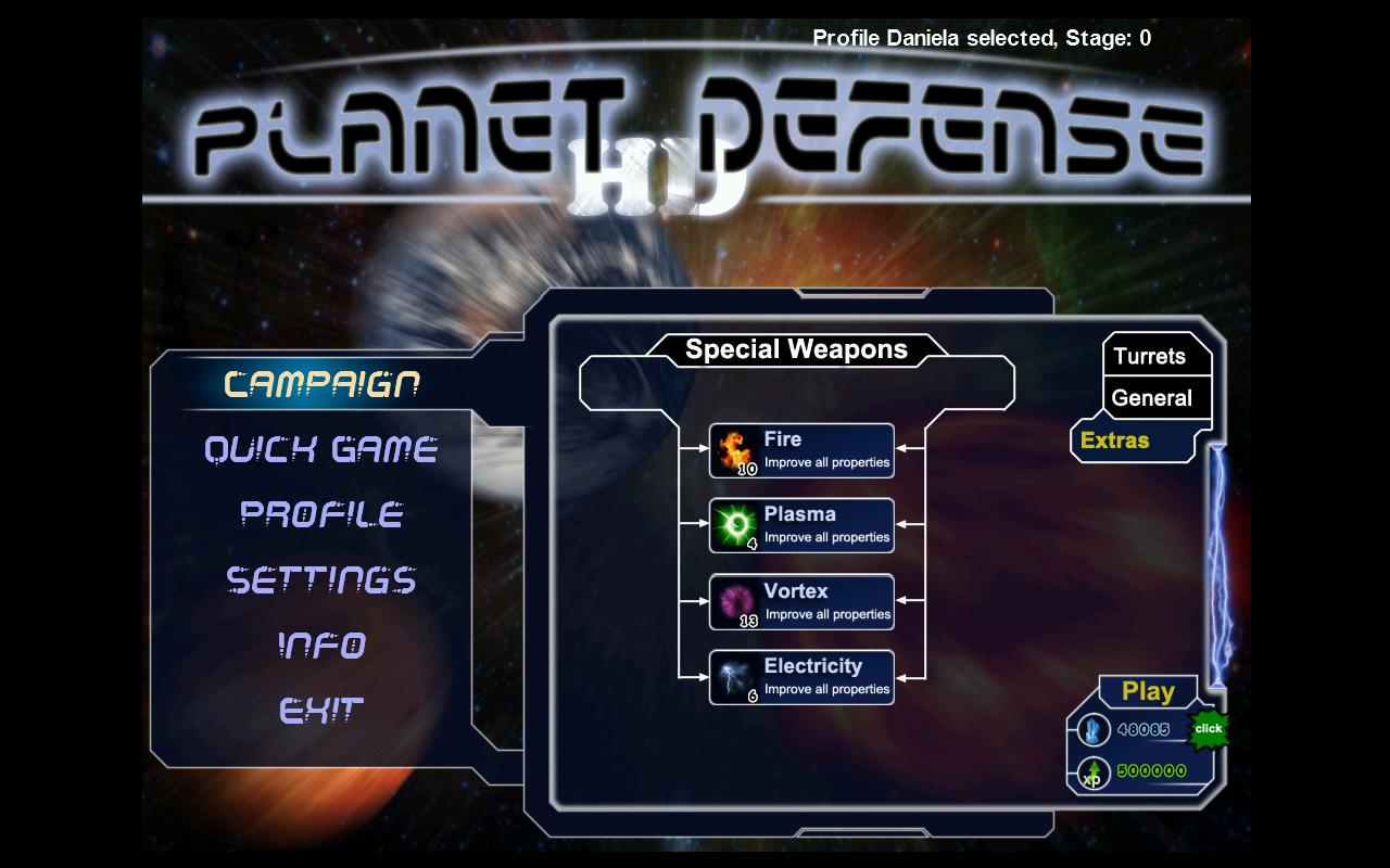 Planet Defense - screenshot