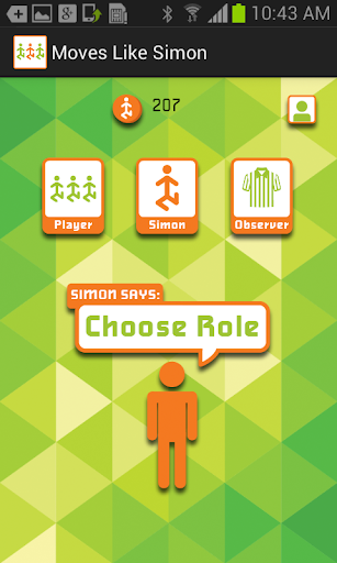 Moves Like Simon - Motion App