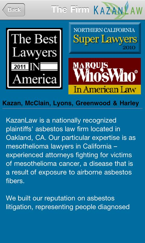 Kazan Law Firm- screenshot