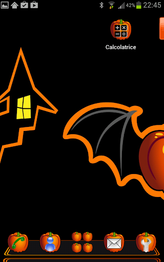 Next Launcher Pumpkin Hallowen