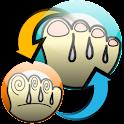 足ツボReverse logo