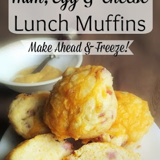 Ham, Eggs and Cheese Muffins.