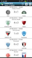 Screenshot of Futebol 2013