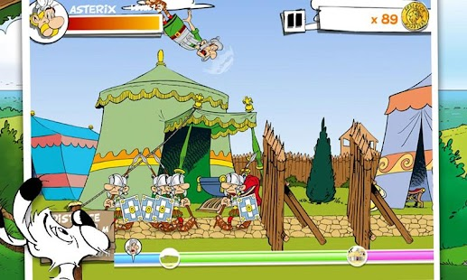 Asterix Megaslap- screenshot thumbnail