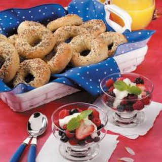 Berries with Sour Cream Sauce.