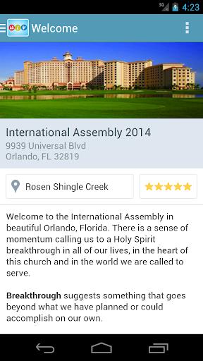 COGOP International Assembly