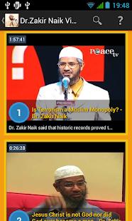 Dr.Zakir Naik Video Collection
