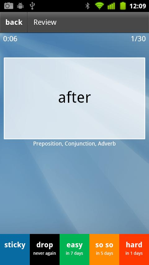 Learn English (UK) Flashcards - screenshot