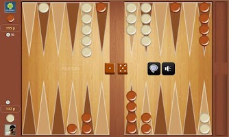 Screenshot of Backgammon Online Tournament !