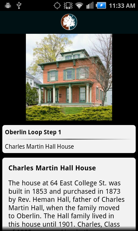 The Official App of Oberlin OH - screenshot
