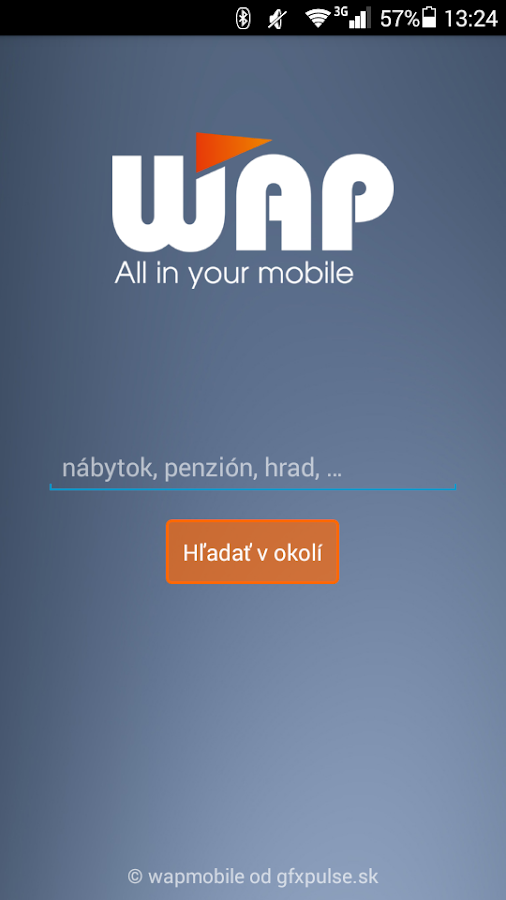 WAP mobile- screenshot
