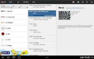 Screenshot of TV VLAANDEREN