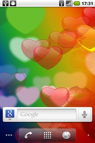 Valentine's Day Flying Hearts- screenshot