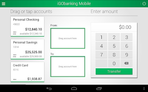 iGObanking Mobile- screenshot thumbnail