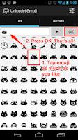 Screenshot of Unicode6Emoji