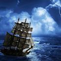 العاصفة خلفية حية icon
