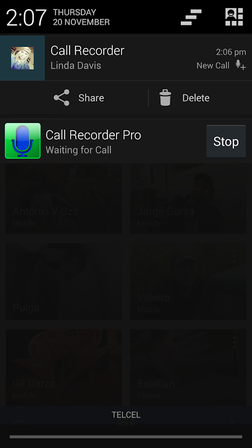 Digital Call Recorder- screenshot