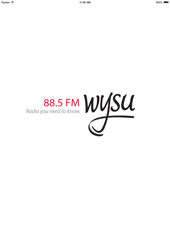 WYSU Public Radio App- screenshot