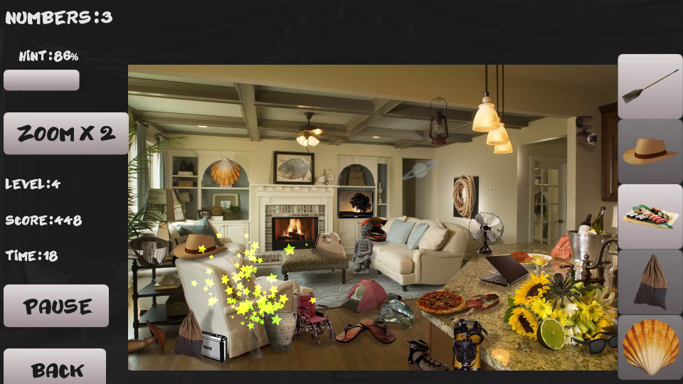 Mystery Room Hidden Objects Screenshot