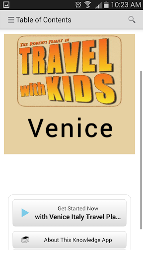 kApp - Travel with Kids Venice