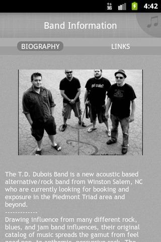 T. D. Dubois Band - screenshot
