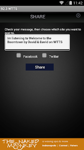 92.3 WTTS - screenshot thumbnail