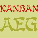 Kanban FlipFont icon