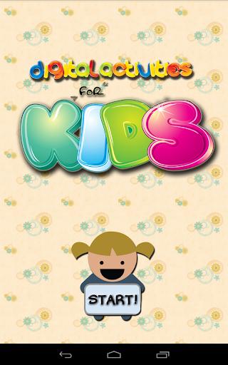 Digital Activities for Kids