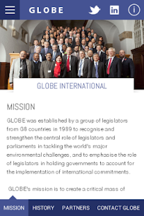 GLOBE International- screenshot thumbnail