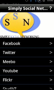 Simply Social Networking - screenshot thumbnail