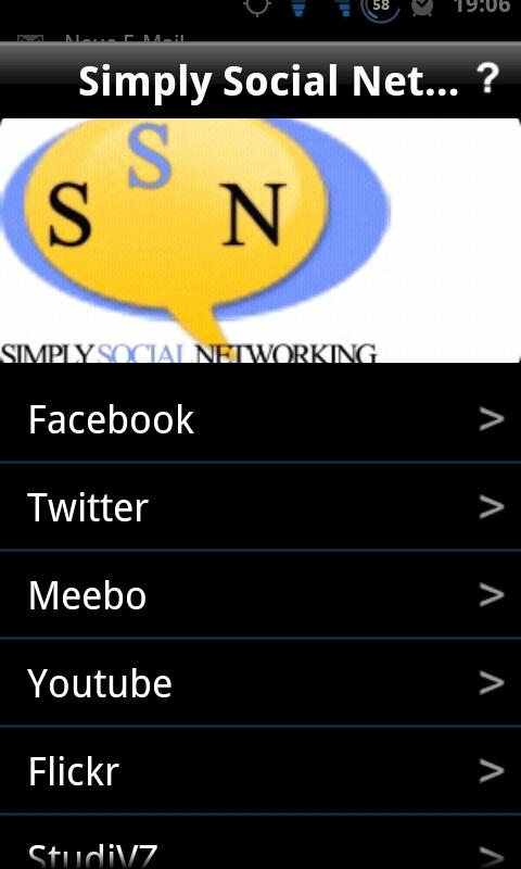 Simply Social Networking - screenshot