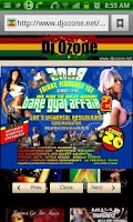 Screenshot of Dj Ozone Reggae Dancehall