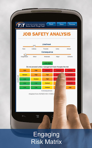 Job Safety Analysis - Mobile