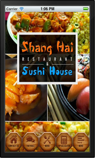【免費商業App】Shanghai and Sushi House-APP點子